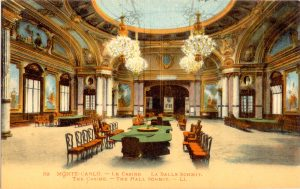 "The ""Salle Mauresque"" (Moorish Room, so-called because of the style of decoration used).  In this room Charles Deville Wells broke the bank several times."