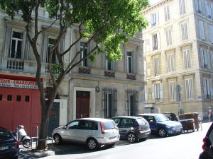 Charles Wells, the man who broke the bank, lived at this house in Marseille during the 1860s-1870s.
