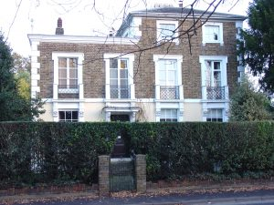 This property in High Road, Broxbourne, was the Wells family home when Charles Deville Wells was born in 1841. As most children were born at home this was almost certainly his birthplace.