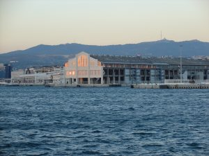 The docks at Marseille - a present-day view