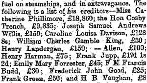 Charles Wells (Freeman's Journal, Dublin: 4 April 1893)