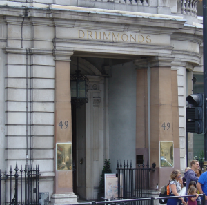 Drummonds Bank, London